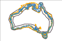 The Australian Coastal Sediment Compartments Web Service provide a hierarchical spatial classification relevant to the assessment of sediment movement in the Australian coastal zone, and represent a tool to assist coastal planning and management.  Additional spatial data layers produced during the development of the compartments are provided for reference.