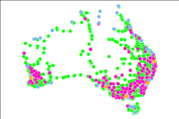 This web service provides access to the National Liquid Fuel Facilities Datasets, representing the spatial locations of all known liquid fuel depots, refineries, terminals and petrol stations located within Australia, all complemented with feature attribution
